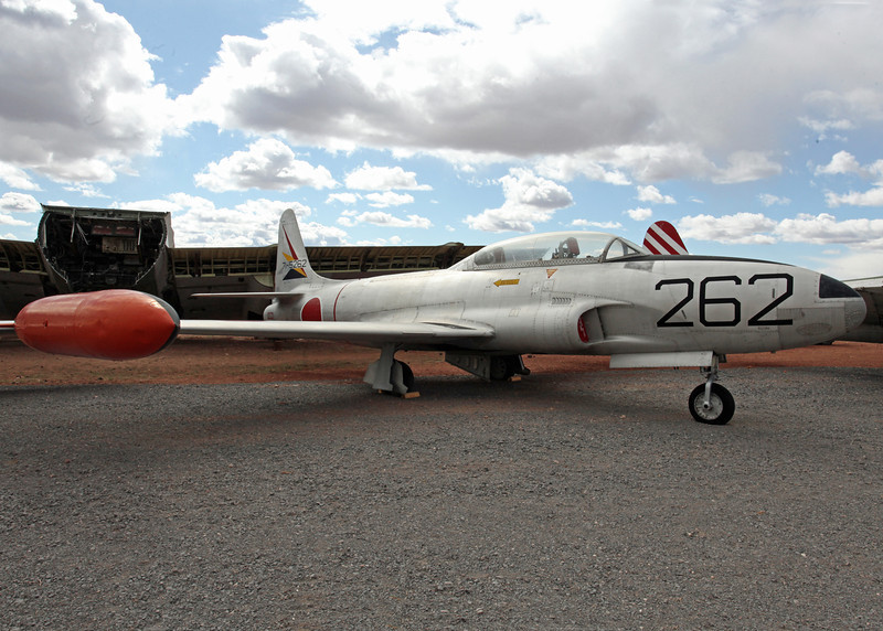 71-5262 Lockheed T-33A (53-5341:262) Planes of Fame Museum