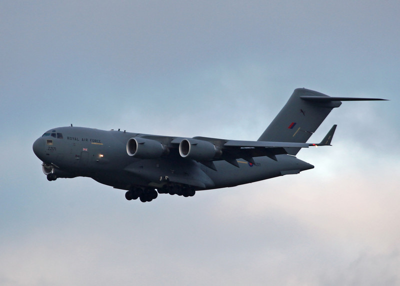 ZZ171 Boeing C-17a Globemaster III (RAF Brize Norton) Royal Air Force 2