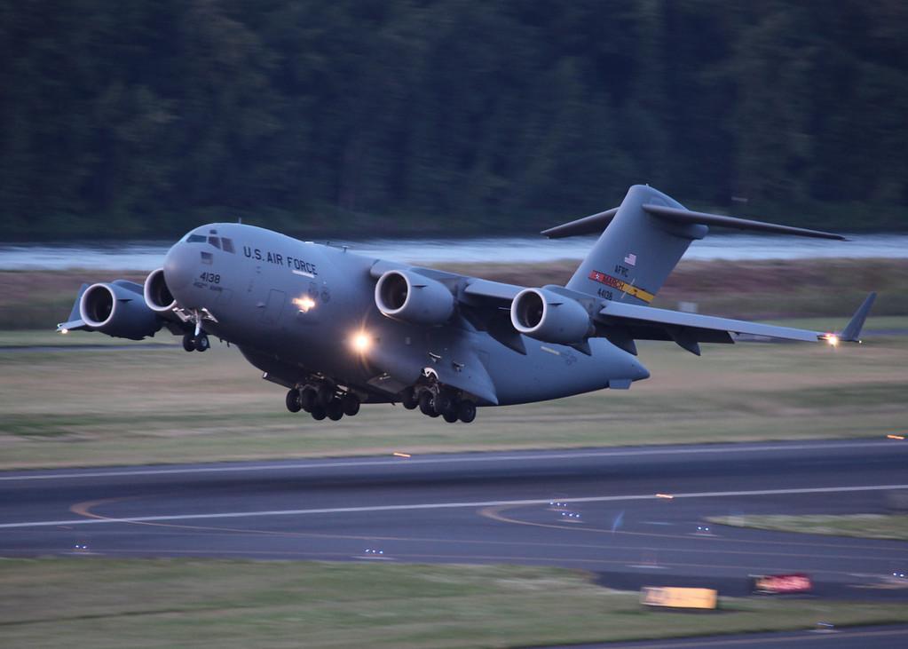 44138 Boeing C17A Globemaster III (Portland-Oregon) USAF Air Mobility Command