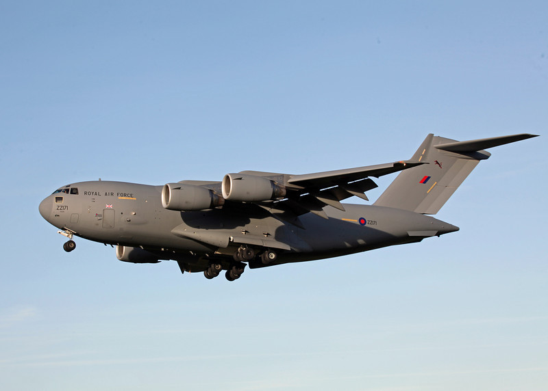 ZZ171 Boeing C-17A Globemaster III (RAF Brize Norton) Royal Air Force 5