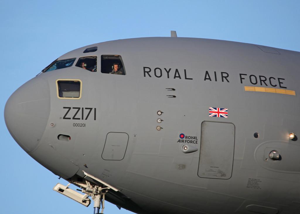 ZZ171 Boeing C-17A Globemaster III (RAF Brize Norton) Royal Air Force