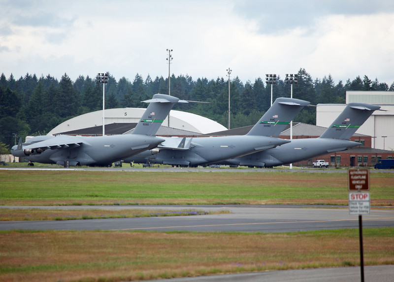 90060; 00182; 21106 Boeing C-17 Globemaster III (McChord AFB, WA) United States Air Force AMC