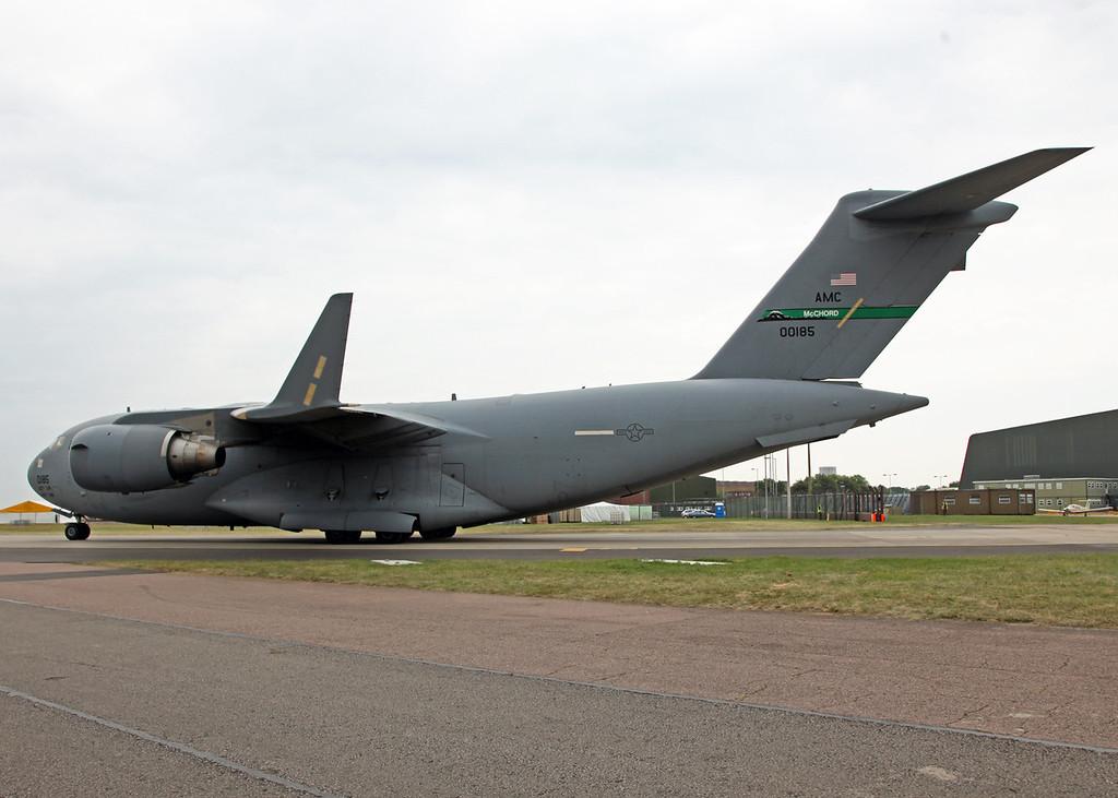 00185 Boeing C17 Globemaster (RAF Waddington) USAF Air Mobility Command - Joint base McChord
