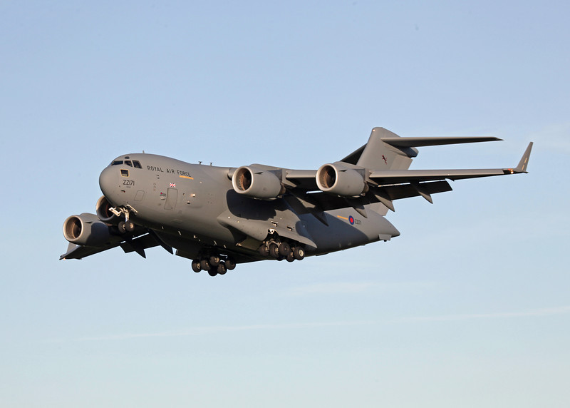 ZZ171 Boeing C-17A Globemaster III (RAF Brize Norton) Royal Air Force 4