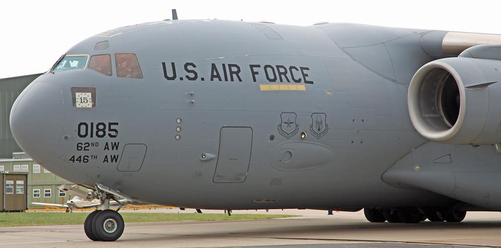 00185 Boeing C17 Globemaster (RAF Waddington) USAF Air Mobility Command - Joint base McChord [4]