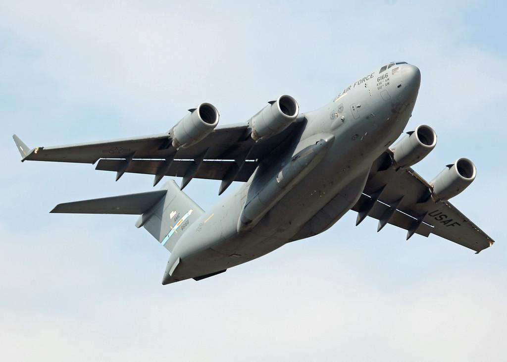 66166 Boeing C17 Globemaster (RAF Waddington) USAF Air Mobility Command - Dover AFB [5]