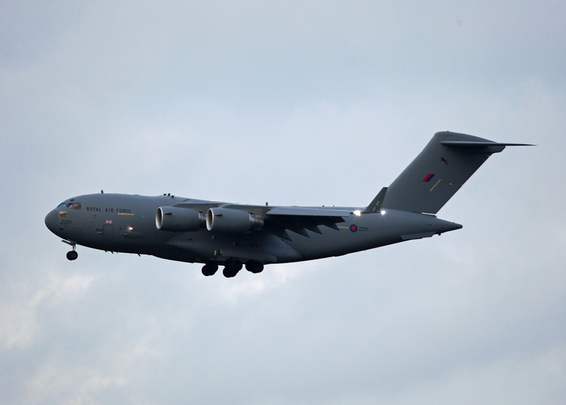 ZZ171 Boeing C-17a Globemaster III (RAF Brize Norton) Royal Air Force