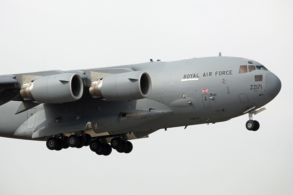ZZ171 Boeing C-17A Globemaster III (RAF Brize Norton) Royal Air Force [3]