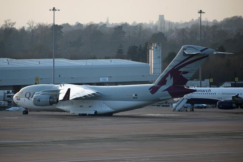 A7-MAB Boeing C-17A Globemaster III (MAN) Qatar Emiri Air Force