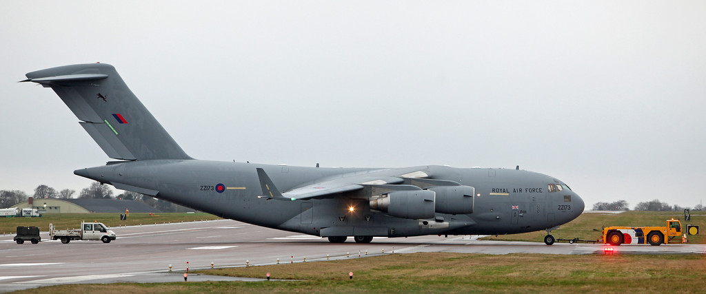 ZZ173 Boeing C-17 Globemaster III (RAF Brize Norton) Royal Air Force