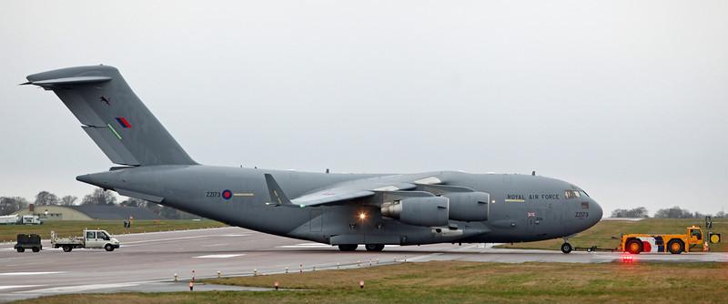 ZZ173 Boeing C-17 Globemaster III (RAF Brize Norton) Royal Air Force