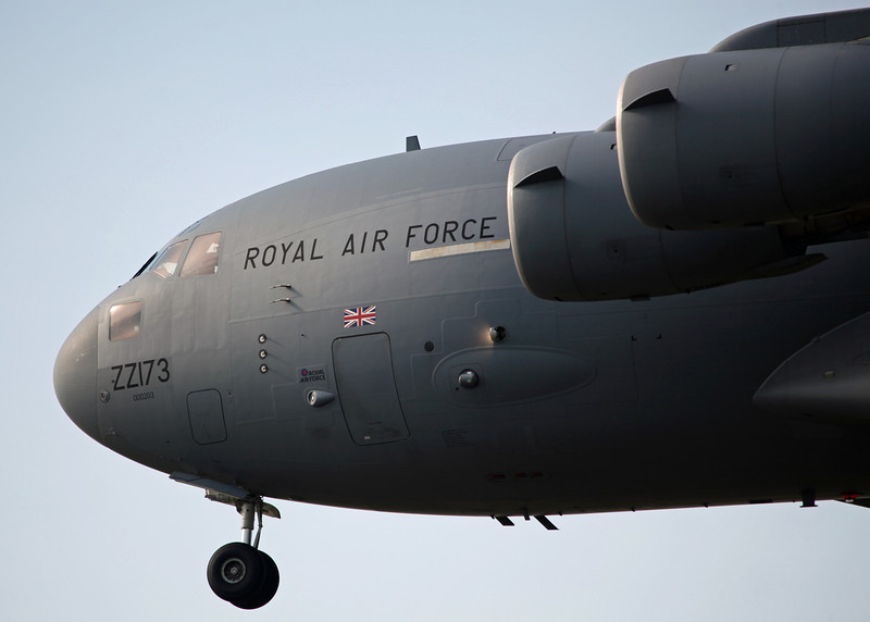 ZZ173 Boeing C-17A Globemaster III (RAF Brize Norton) Royal Air Force
