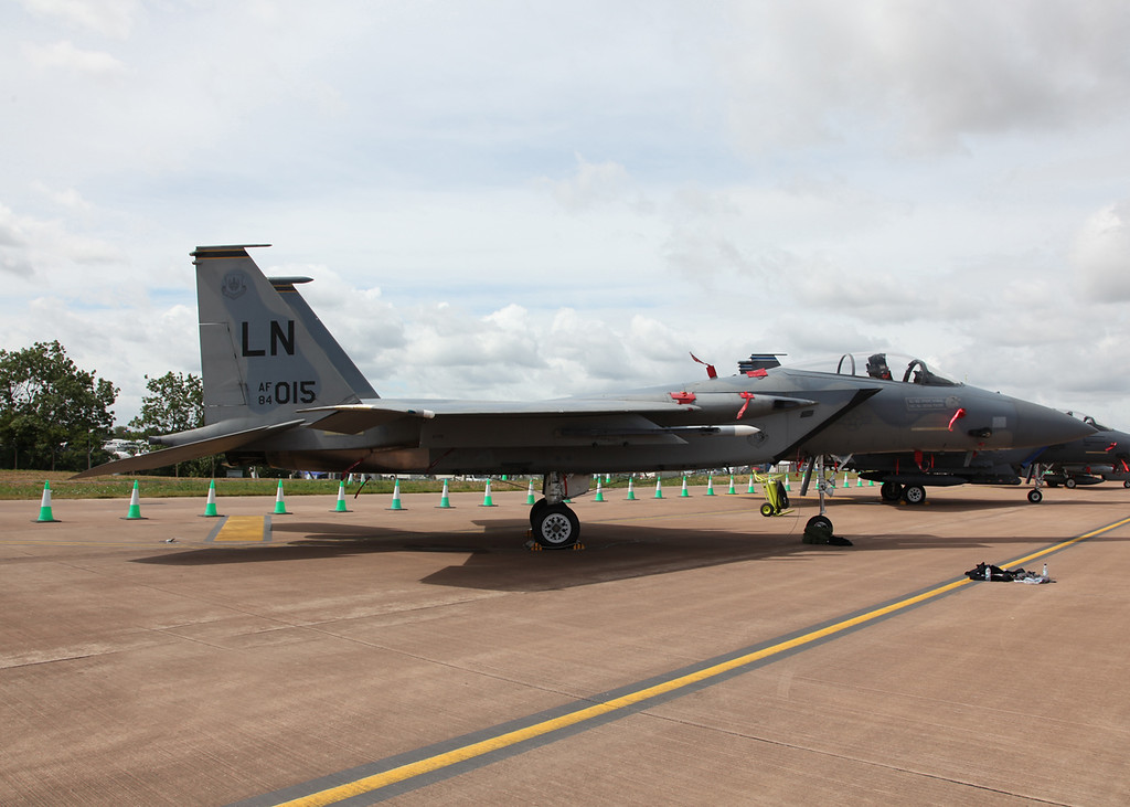 84-015 McDonnell Douglas F-15C Eagle (RAF Fairford) United States Air Force (RIAT 2010)