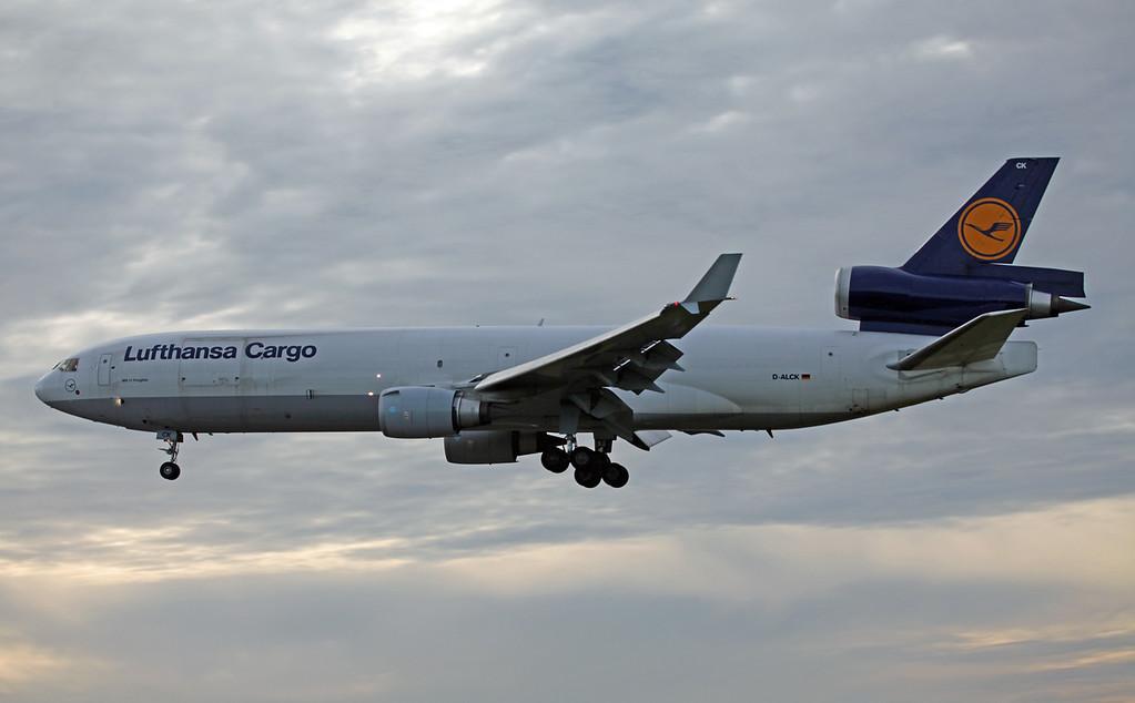 D-ALCK McDonnell Douglas MD11F (MAN) Lufthansa Cargo