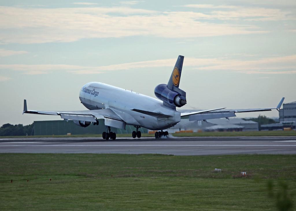 D-ALCK McDonnell Douglas MD11F (MAN) Lufthansa Cargo (4)