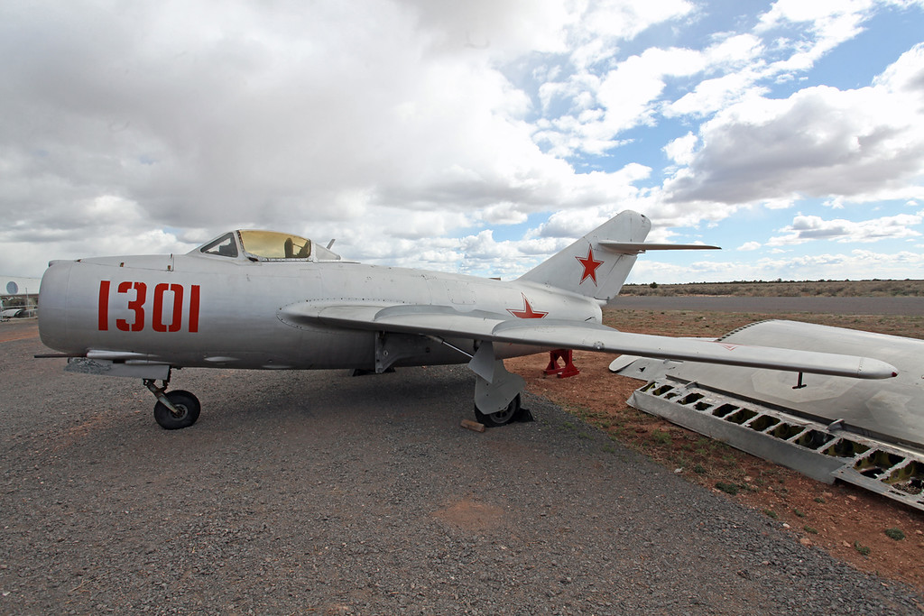 1301 Mikoyan-Gurevich Lim-2 Planes of fame Grand Canyon Museum