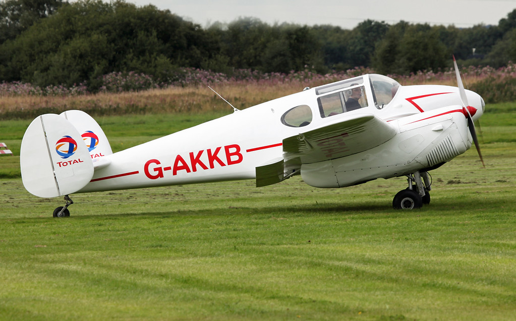 G-AKKB MILES M65 GEMINI 1A (Barton) Private ownership