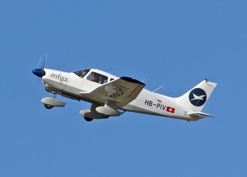 HB-PIV Piper-28-181 (Zurich) Motorfluggruppe Zürich