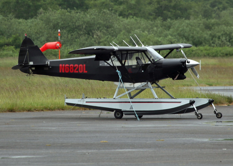 N6820L Piper PA-18-150 (Astoria, Orgeon - USA) Private