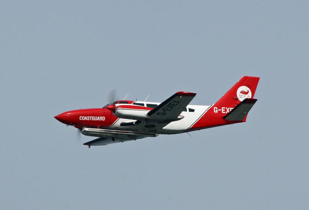 G-EXEX Piper PA-34-200 Seneca (Filey) MCA Coastguard