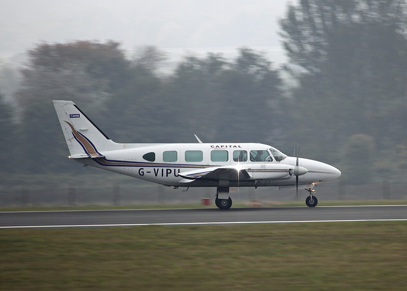 G-VIPU Piper PA-31-350 Navajo Chieftain (Edinburgh) Capital Air Charter Limited