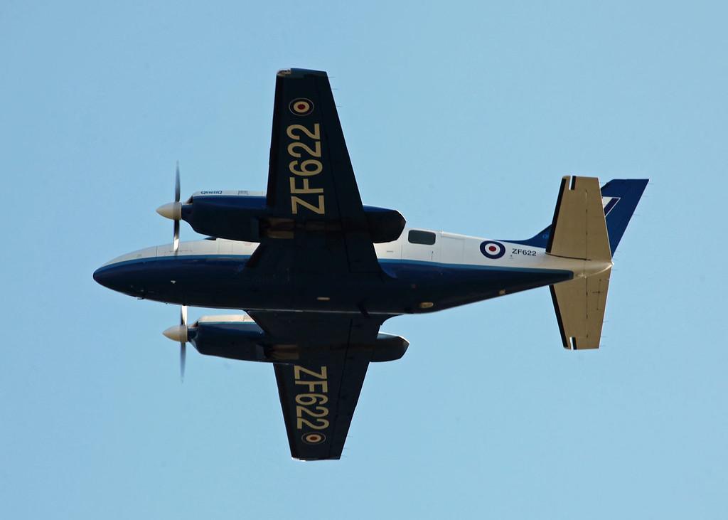 ZF622 Piper PA-31-350 Chieftain (RAF Brize Norton) QuinetiQ 2