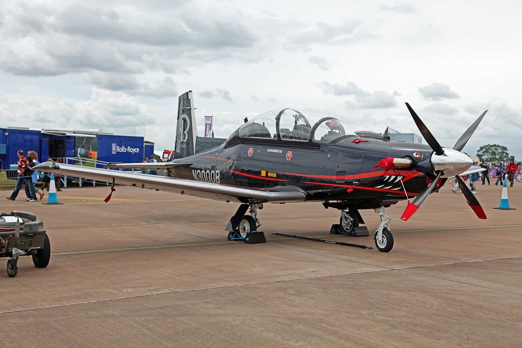N3000B Raytheon Aircraft Company PH-1 (RAF Fairford)  Hawker Beechcraft Ltd (RIAT 2010, Experimental) 3