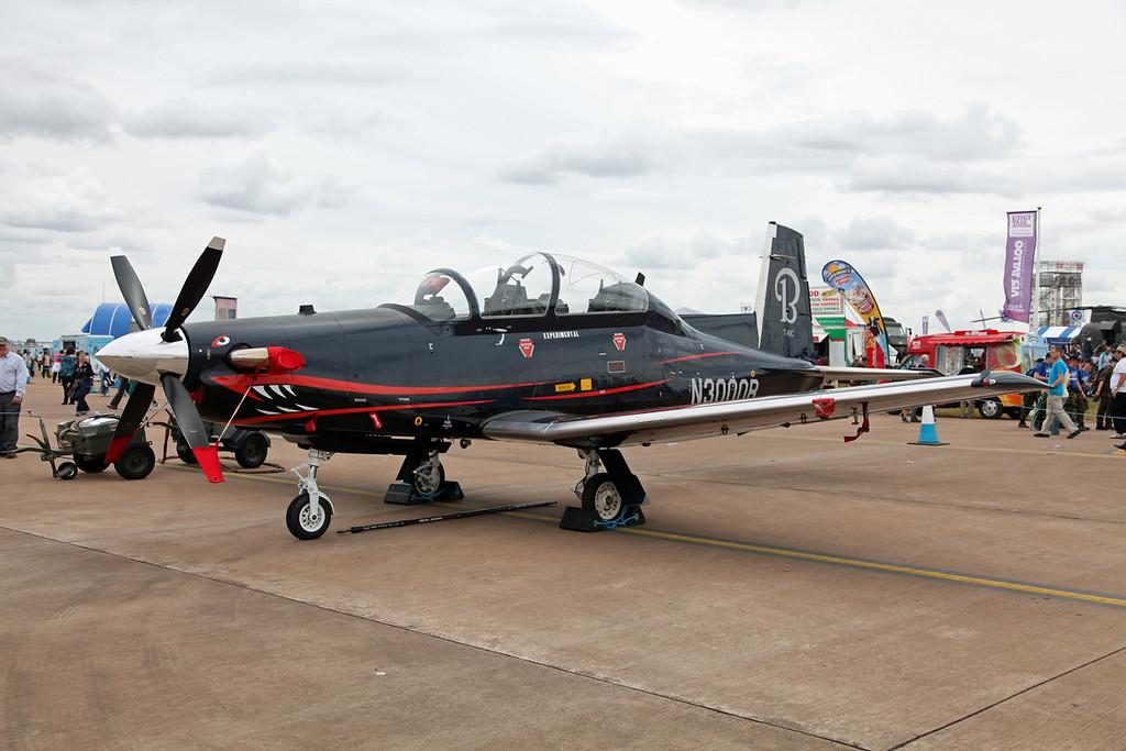 N3000B Raytheon Aircraft Company PH-1 (RAF Fairford)  Hawker Beechcraft Ltd (RIAT 2010, Experimental)