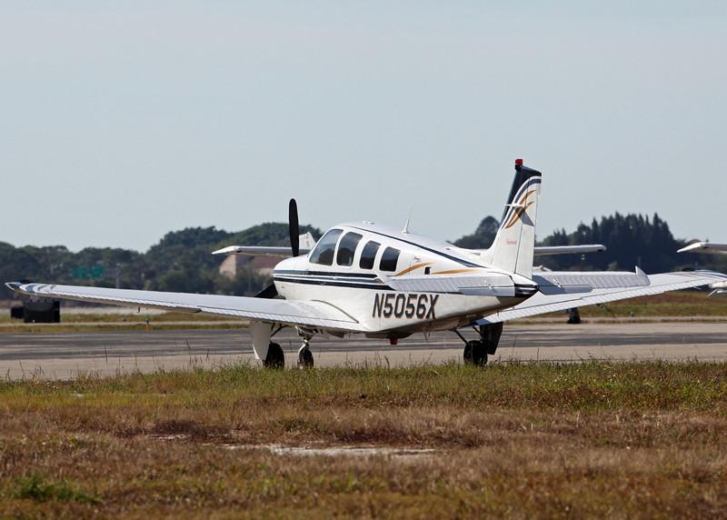 N5056X Raytheon Aircraft Compand A36 (Sarasota International Airport) McKelvey Robert G