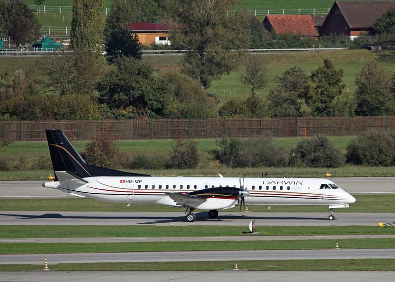 HB-IZP Saab 2000 (Zurich) Darwin Airline SA
