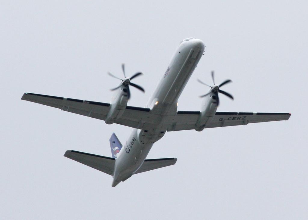 G-CERZ SAAB 2000 (Over Tatton Park) Eastern Airways