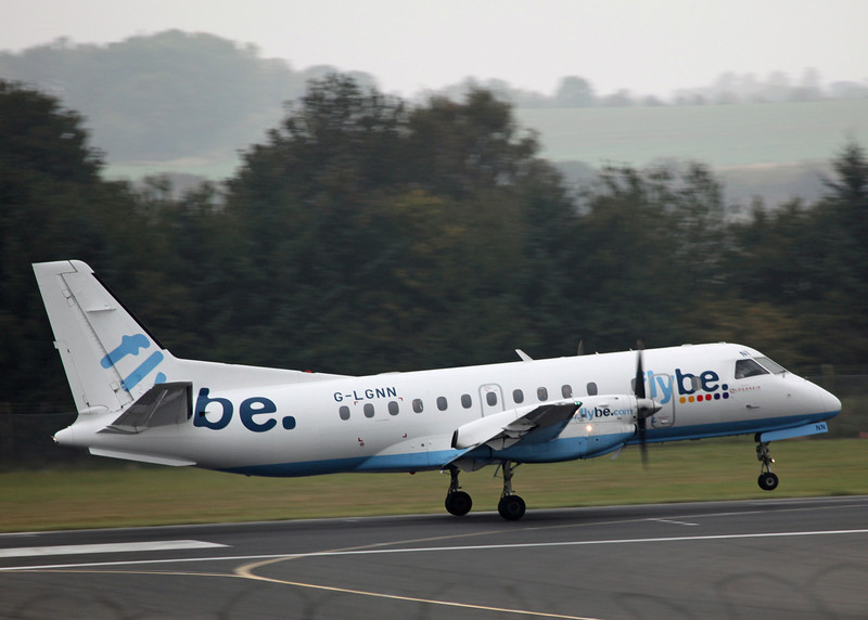 G-LGNN SAAB-SCANIA SF340B (Edinburgh) Flybe 2