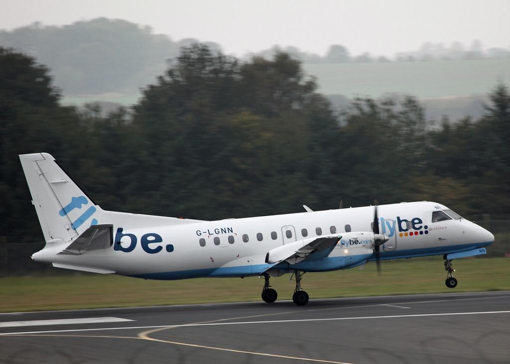 G-LGNN SAAB-SCANIA SF340B (Edinburgh) Flybe 2