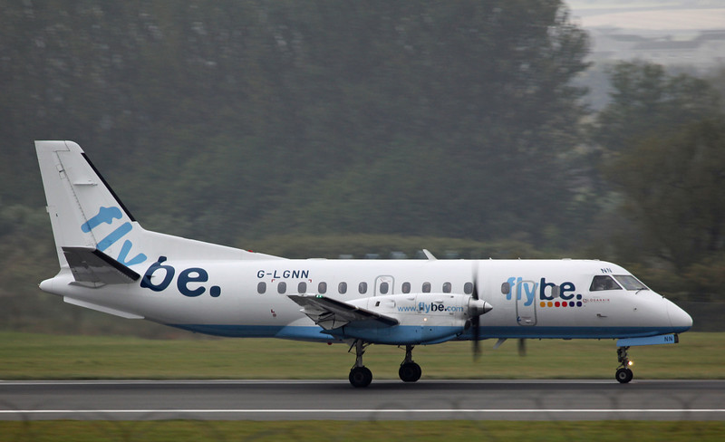G-LGNN SAAB-SCANIA SF340B (Edinburgh) Flybe