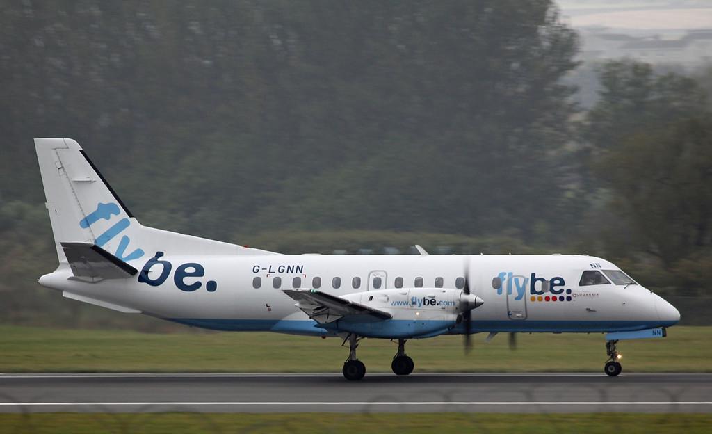 G-LGNN SAAB-SCANIA SF340B (Edinburgh) Flybe