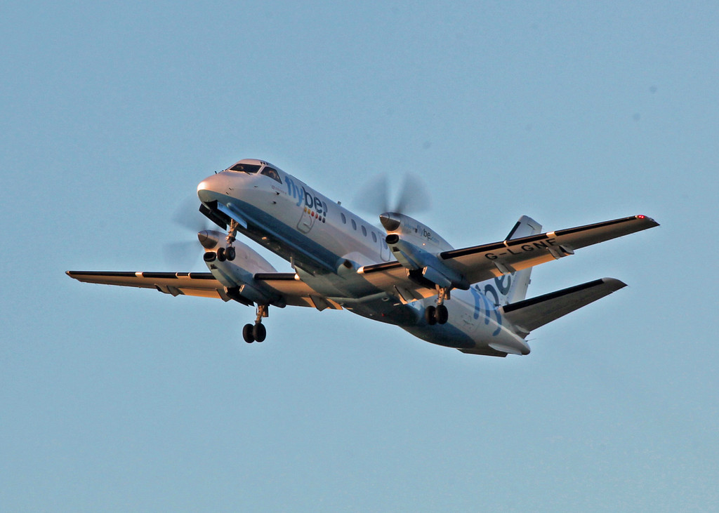 G-LGNF SAAB-SCANIA SF340B (Edinburgh) Flybe 2