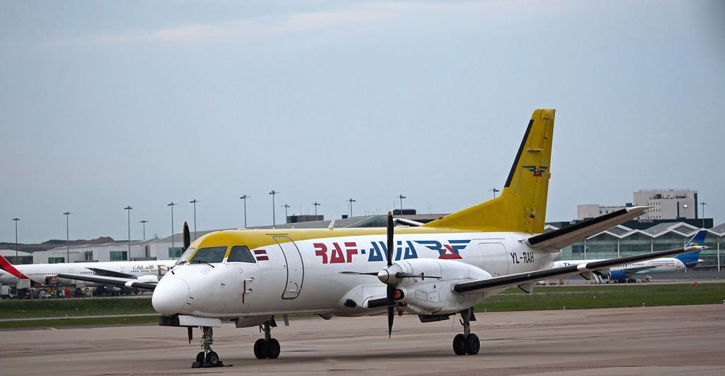 YL-RAH Saab-Fairchild SF-340A(F) (Birmingham International Airport) RAF-Avia Airlines