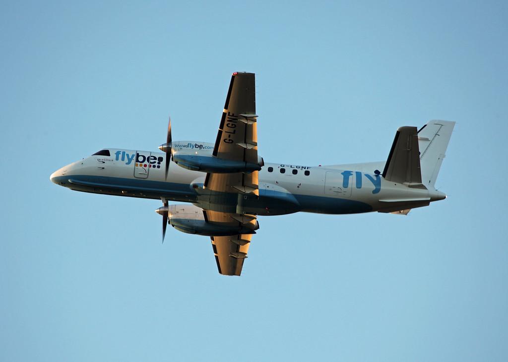 G-LGNF SAAB-SCANIA SF340B (Edinburgh) Flybe
