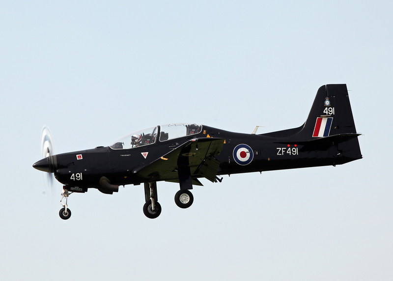ZF491 Shorts 312 Tucano T1 (RAF Brize Norton) Royal Air Force