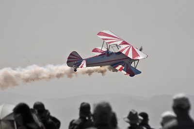 Gary Rower in his Stearman
