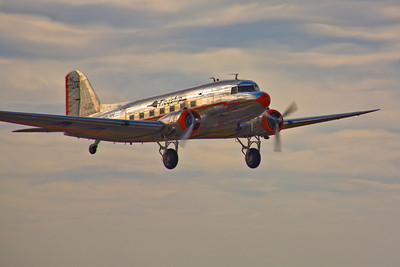 "Douglas DC-3, ""Flagship Detroit"" at Rocky Mountain Airshow, Rocky Mountain Metropolitan Airport"