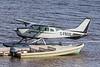 Bushland Cessna U-206E C-FBGB at Two Bay docks in Moosonee.