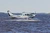 Bushland Airways C-FBGB Cessna U-206E  on the Moose River.