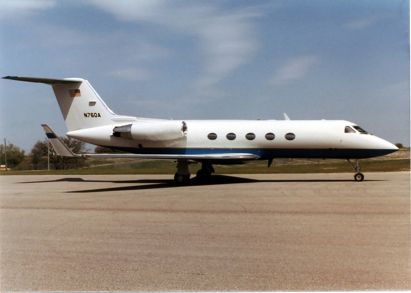 One of corporate Gulfstreams