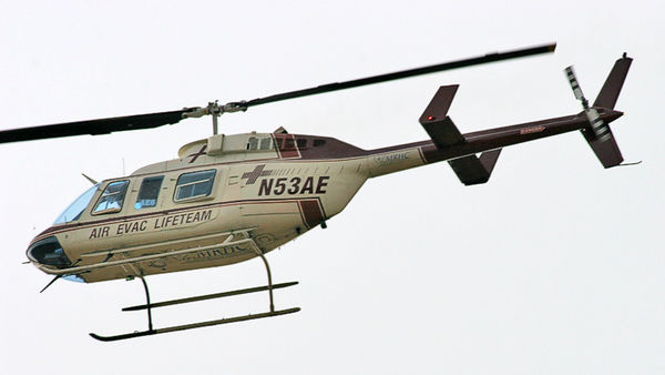 Same Helicopter as above, but this time, it was going South heading toward Texas. This time, it was a lot closer to me.