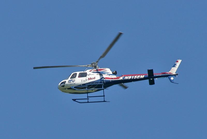 New Medivac Chopper.