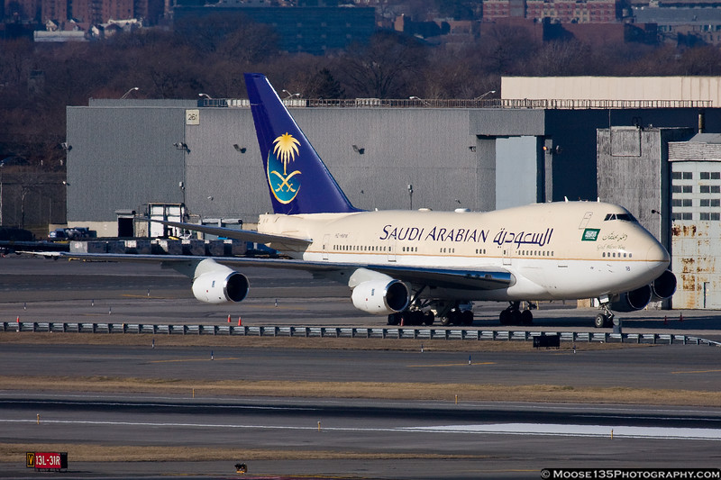 Saudi Arabian 747SP HZ-HMB