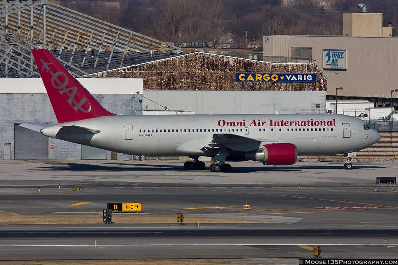 Omni Air International Boeing 767-200ER N234AX