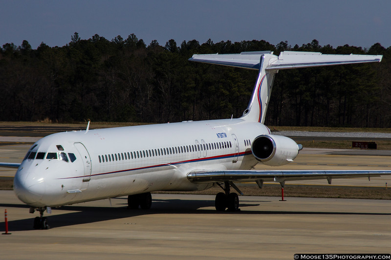 N786TW MD-83 owned by Ameristar Jet Charter