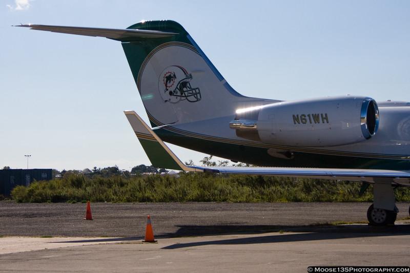 Gulfstream IV of Miami Dolphins owner Wayne Huizenga.
